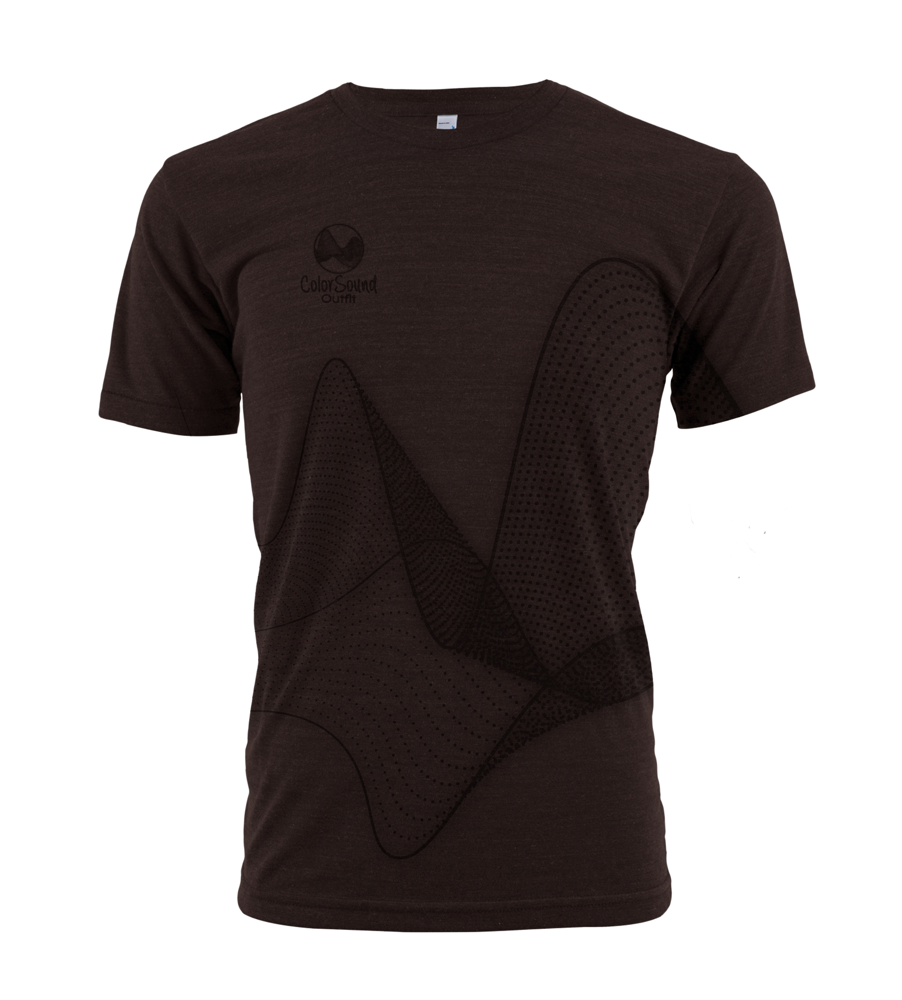 Elemental T Shirt Chocolate Male Colorsound Outfit